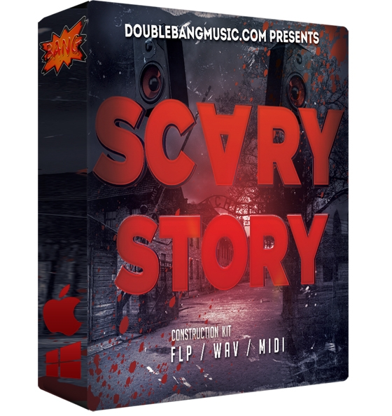 Double Bang Music Scary Story WAV MiDi FLP
